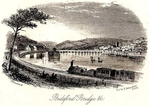Bideford Bridge.