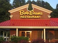 Bob Evans Restaurant for Sausage Gravy, Biscuits & Honey.