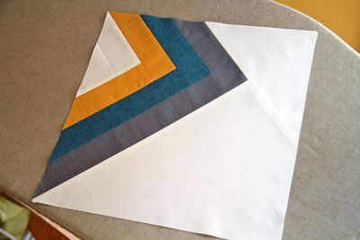 Modern Block of the Month tutorial ~ October    Alissa Haight Carlton for Sew,Mama,Sew!