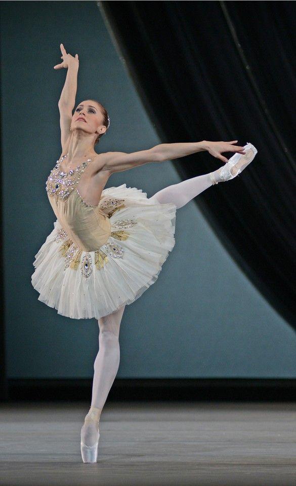 Diamonds: Marianela Nuñez  The Royal Ballet dance Balanchine's 'Jewels', December 2013. Diamonds is the closing piece