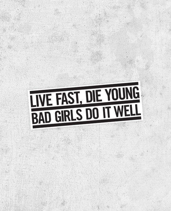 M.I.A. Lyric sticker Bad girls do it well jay z by bestplayever