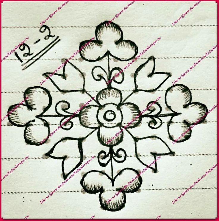 Pin by Riya on Rangoli, Doodles, Zentangles, Patterns