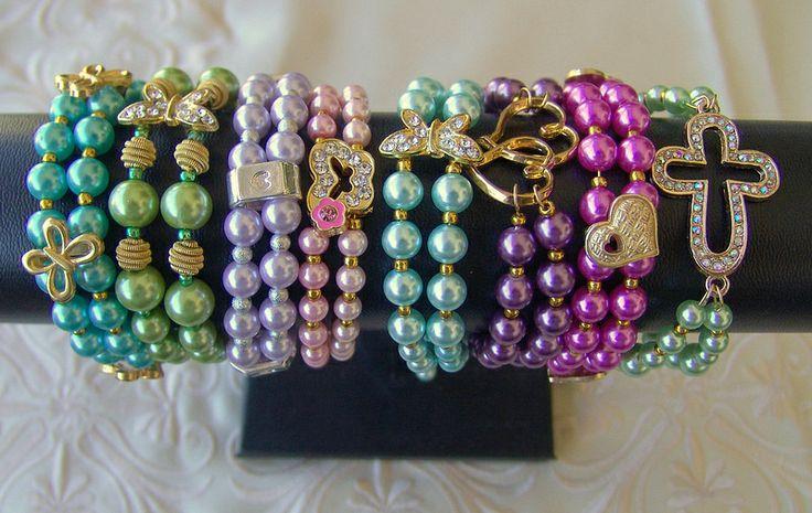 Double pearl bracelets