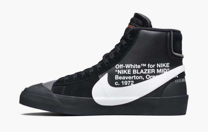 Off White X Nike Blazer Mid Grim Reaper Zapatillas Nike Para Hombre Zapatillas Nike Nike