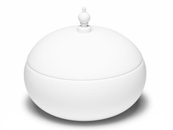 Silikonowy pojemnik SPIRA biały Qually