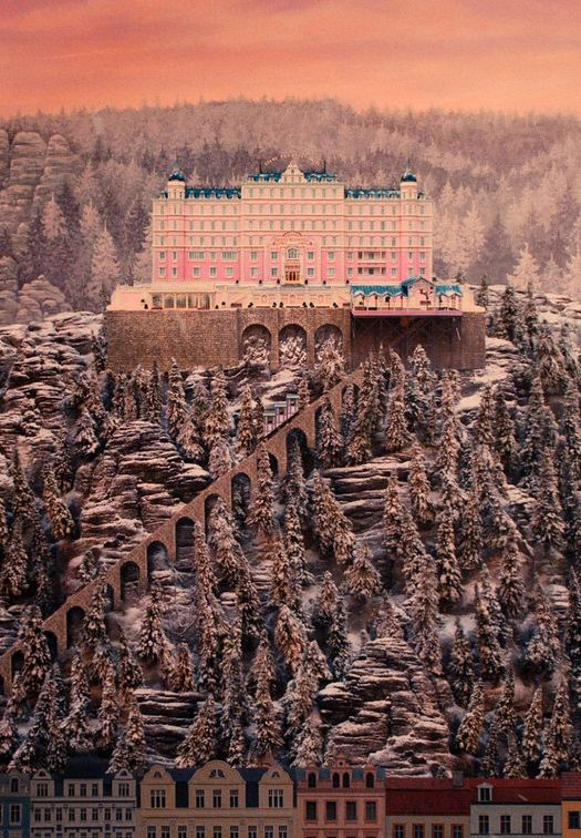 Tonight's film: #TheGrandBudapestHotel Good,not great. Also, I really didn't care for the square aspect ratio.3 stars