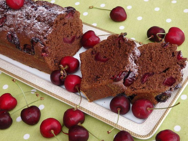Ciasto czekoladowe z czere�niami