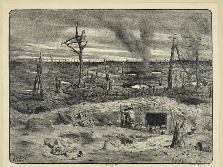"""The Legend of What Actually Lived in the """"No Man's Land"""" Between World War I's Trenches 