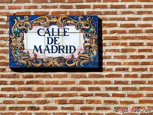 Una ciudad que es capaz de homenajearse a si misma poniendole su mismo nombre a una calle. Madrid al cuadrado: La Calle de Madrid de Madrid.