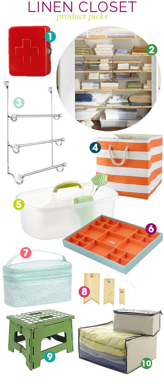 Organize This: Linen Closet!