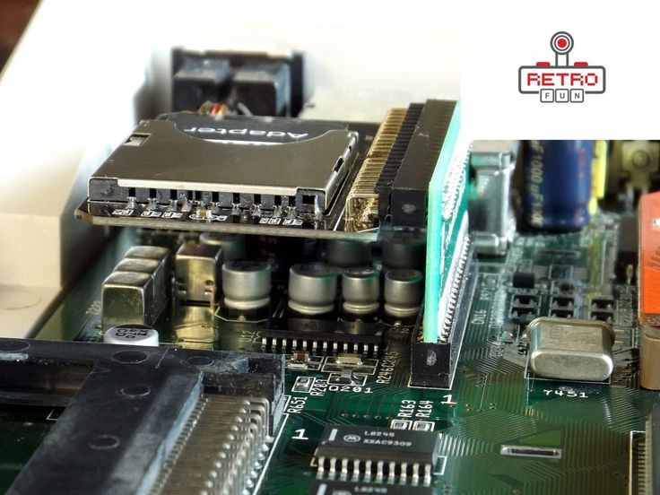 KA 47 – Single port IDE adapter for SD2IDE converter - AMIGA 600 / 1200 #ComputersSystems