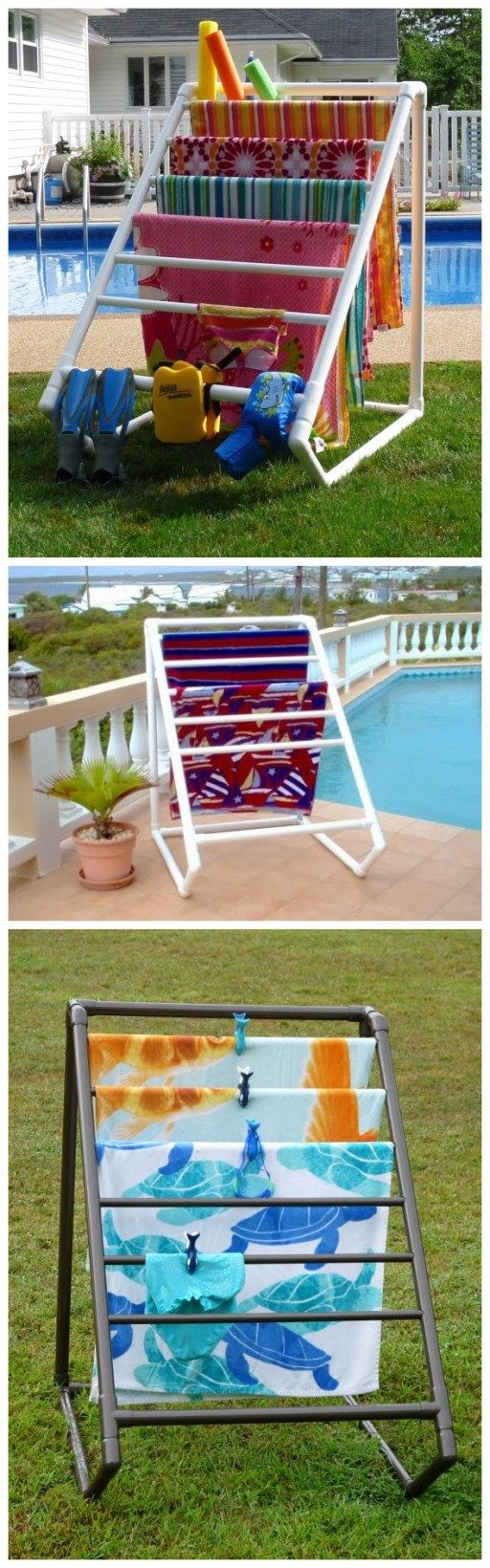 PVC pipes are easy and economical to