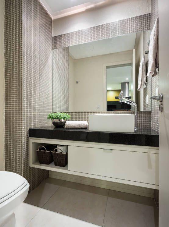 1000+ ideas about Banheiros Pequenos E Modernos on Pinterest  Small Toilet,  -> Banheiro Pequeno E Moderno