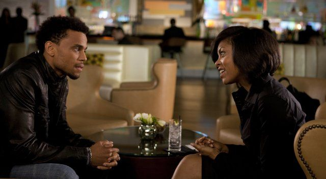 Taraji P. Henson and Michael Ealy in THINK LIKE A MAN.  See the film in theatres April 20, 2012.  Photo by Alan Markfield.