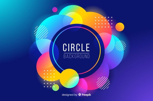 Download Abstract Colorful Circles Background For Free Colorful