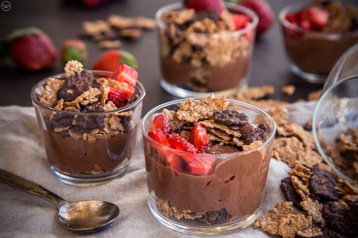 Light Μους σοκολάτας με γιαούρτι - madameginger.com