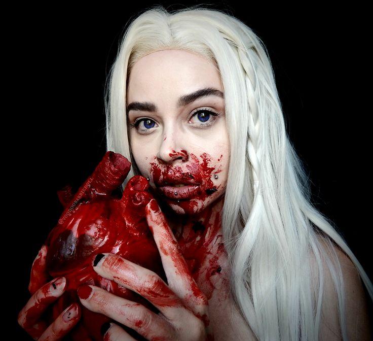The 25+ best Halloween makeup blood ideas on Pinterest   Halloween ...