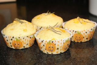 Little Bit of Everything: Rosemary Corn Muffins