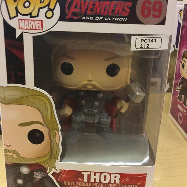"""Age of Ultron Avengers Thor funko pop #avengers #ageofultron #marvel #hulk #funko pop #thor Like this? I'm selling it on @depopmarket. Search for me: diversions on #depop ✌ "" Photo taken by @diversionsgifts.co.uk on Instagram, pinned via the InstaPin iOS App! http://www.instapinapp.com (07/17/2015)"