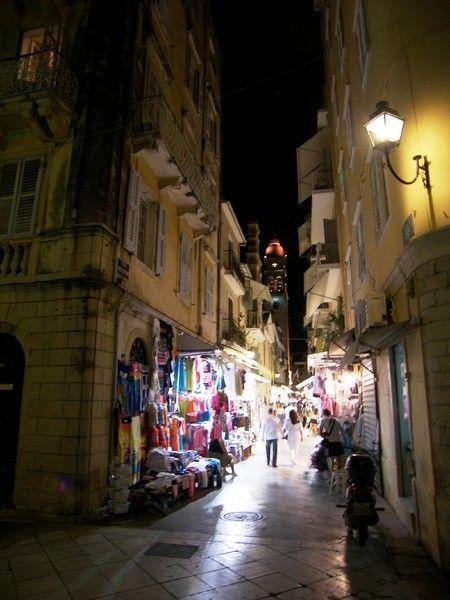 Corfu by night....