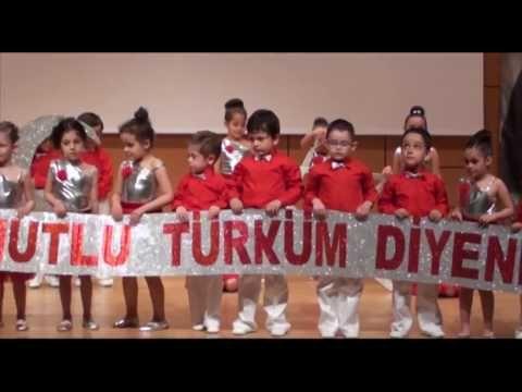 İstanbul Çağdaş Gelişim Anaokulu Bayrak Rondu | Gösteri - Müsamere TV
