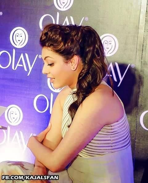 at the olay event
