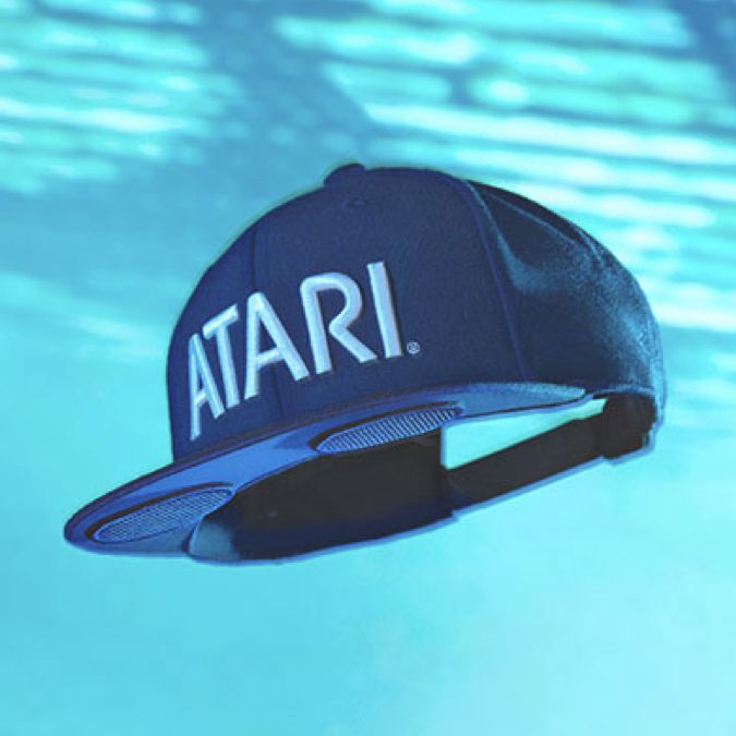 Atari Speakerhat by Audiowear on Collaboration Generation – the latest and best in brand innovation