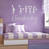 cheerleading room <3 i love it for my little girl!