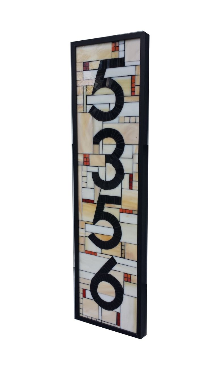 Best 25 house numbers ideas on pinterest diy house for Bright houses number