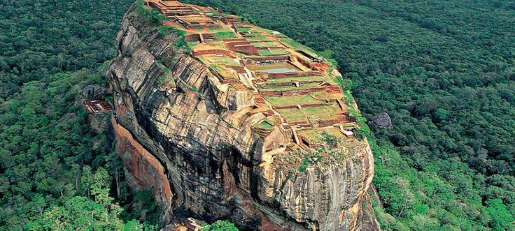 Wonder of World - Sigiriya Rock Fortress, Sri Lanka   Tropical Way Tours