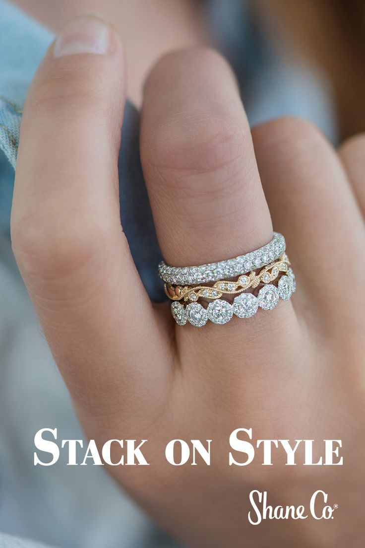 Trend Alert: Stacked Rings - The Engagement Ring Bible