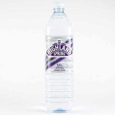 Highland Spring (Ochil Hills in Perthshire) Organic Still Spring Water