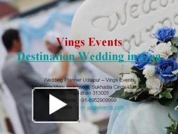 There Are Many Destination Wedding Venues In India And All Places Or Awesome