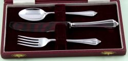 Silver Cutlery Childs Set DF1966