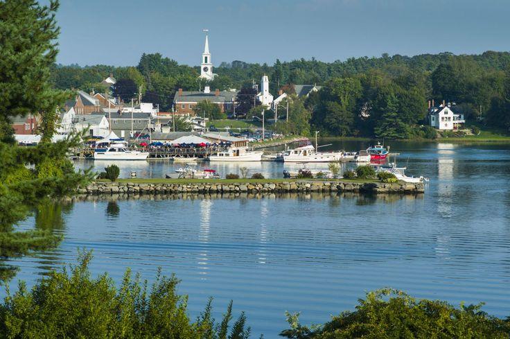 Damariscotta, Maine, We went on our honymoon!