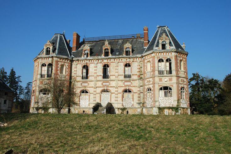 Abandoned - Castle of Bonnelles - France