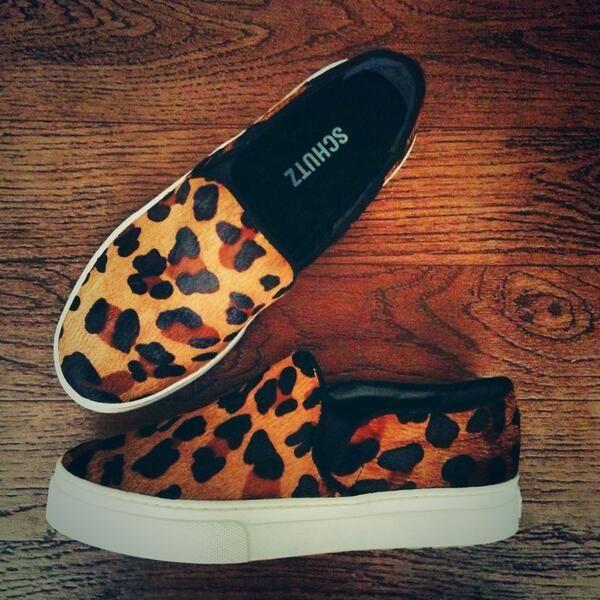 Becca Tobin does it better in the Schutz Amisha Sneaker (http://www.nastygal.com/product/schutz-amisha-sneaker-leopard) #OMGshoes