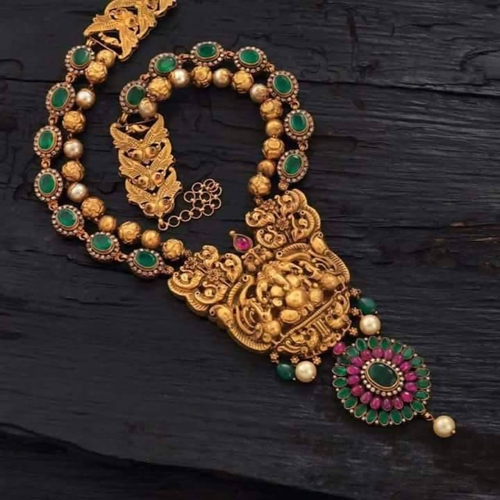 1669 best South Indian Jewellery images on Pinterest India jewelry