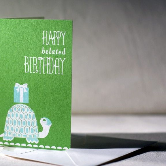 88 Best Images About Belated Birthday Cards On Pinterest