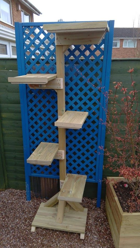 Products Kitty Klimbers Outdoor Cat Trees and