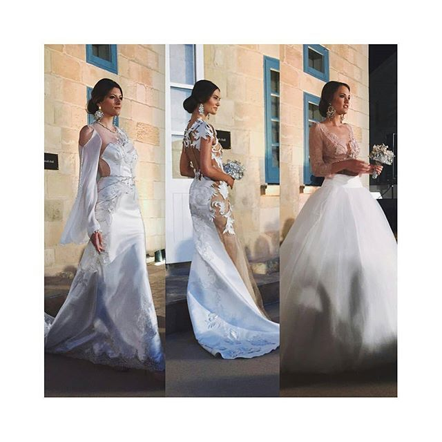 @Regrann from @wearfashionstyling -  Stunning wedding gowns by @annaromysh at @weddingbellsvalletta, bouquets by Alistar. #malta #models #gowns #beautiful #wedding #hautecouture #fashion #ootd #potd #follow #mfwa #2016 @supernovamodelmanagement #Regrann