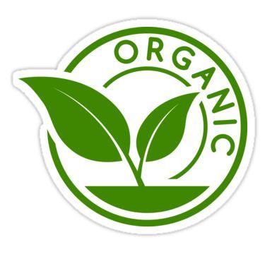 """Organic badge"" Stickers by Stock Image Folio   Redbubble"
