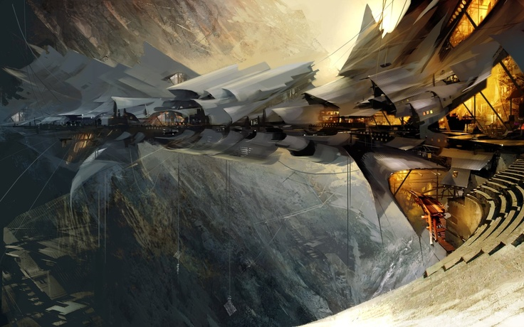 'Sky Bridge' by Daniel Dociu