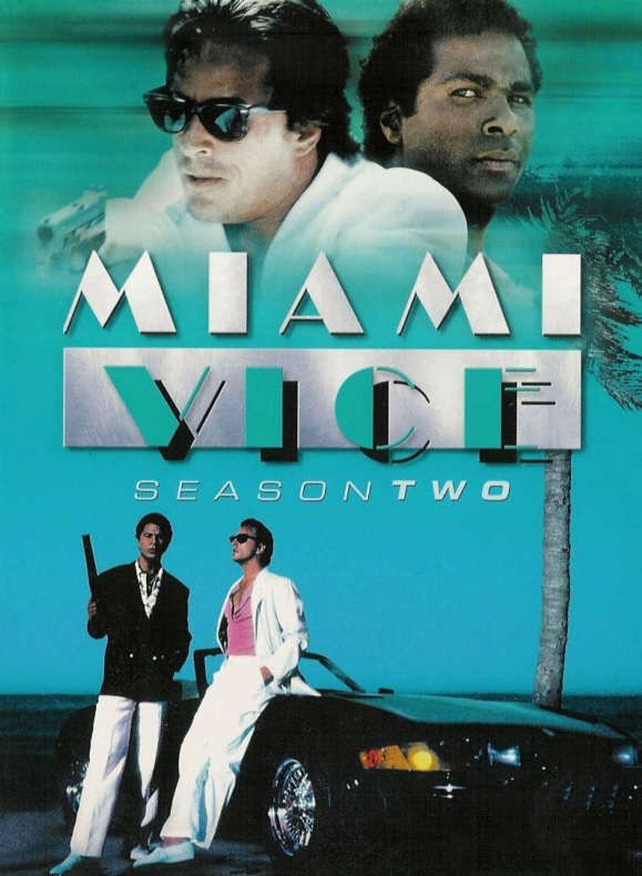 """Miami Vice TV Show - I loved Crockett & Tubbs... oh, and Gina & """"Big Booty"""" Trudy..."""