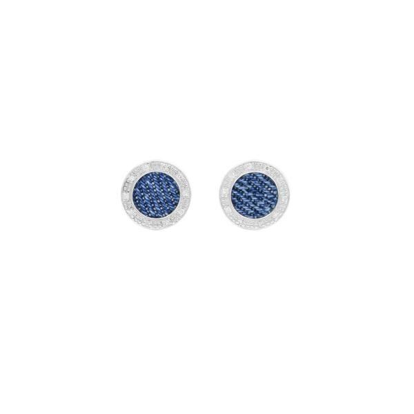 925 Silver Round Earrings