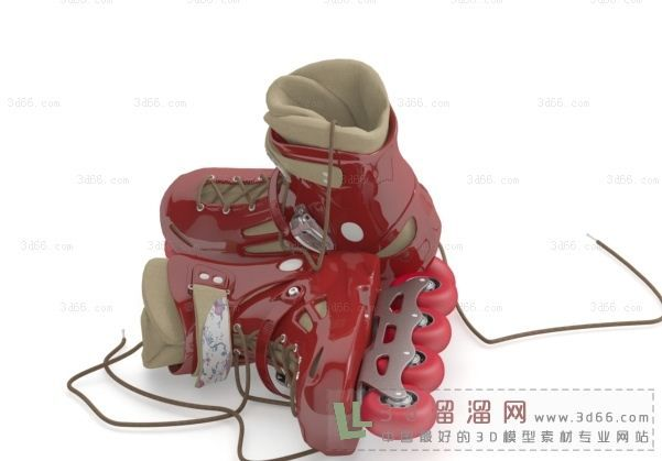 溜冰鞋3d模型(258104)