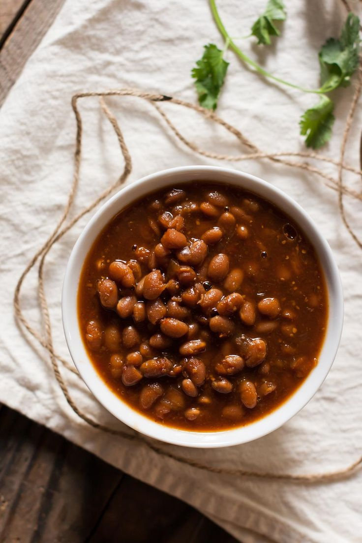 This vegetarian baked beans recipe is perfect for a summer BBQ! Super easy to make, healthy, and delicious, this recipe can't be beat.