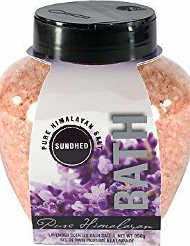Sundhed Himalayan Bath Salt with Lavender 850 Grams