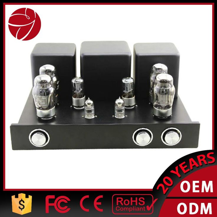 Audiophile 6550 tube amplifier handmade wired circuit hifi audio PP-55b