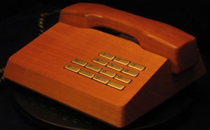 Have always loved the Gfeller Trub wooden phone. Gorgeous. #wood #telephones #retro
